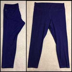 Fabletics High Waisted Space Dye Knit Legging 2X